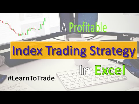 Best Index Trading Strategy / How to Replace Your Paycheck When You