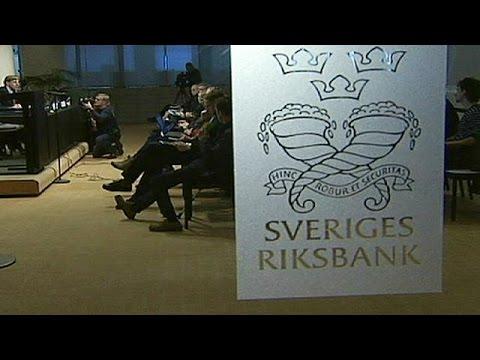 Banque centrale de Suède : taux d'intérêt directeur négatif - economy