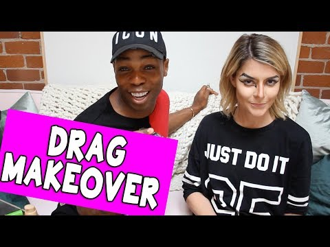DRAG MAKEOVER W/ TODRICK HALL // Grace Helbig
