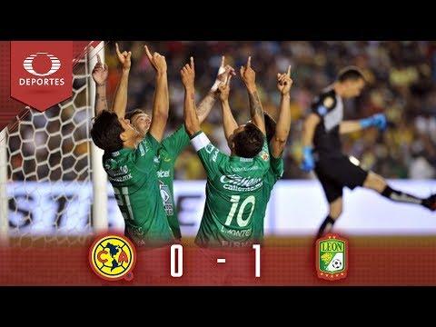 Resumen: La fiera con ventaja | América 0 - 1 León | Liga Mx - Semifinal | Televisa Deportes