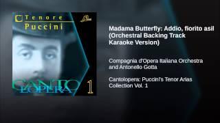 Madama Butterfly: Addio, fiorito asil (Orchestral Backing Track Karaoke Version)