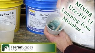 Terranscapes - Mixing Ure-fil With Reoflex Urethane Rubber - Smooth-on