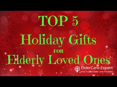 Top 5 Tips for the Perfect Holiday Gift for Elderly Seniors