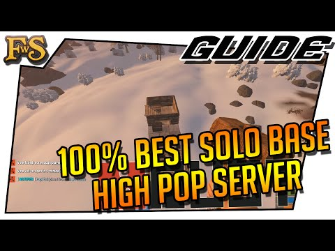 Simply the Best Solo Base Design for High Population Server