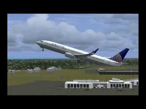 FSX:SE | Boeing 737-900 NGX/ PMDG| United Airlines | Robert L. Bradshow Int. Airport [TKPK]