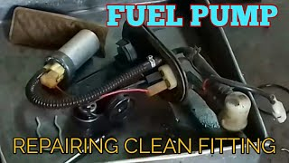 Fuel pump repairing cleaning washing fitting Bajaj Pulsar 220 DTSi Fi