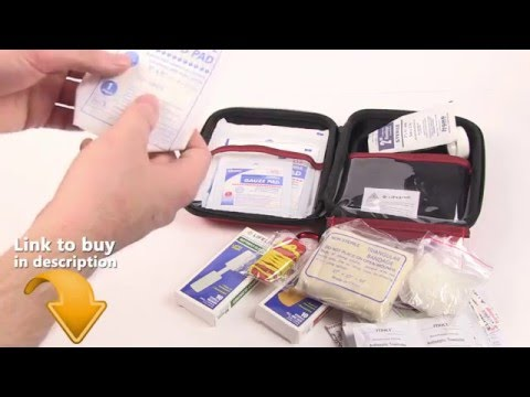 First Aid Kit Review MUST HAVE AAA 85 Piece