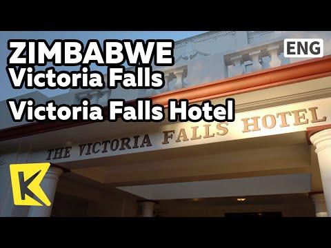 【K】Zimbabwe Travel-Victoria Falls[짐바브웨 여행-빅토리아폴스]빅토리아 폴스 호텔/Victoria Falls Hotel/Elizabeth