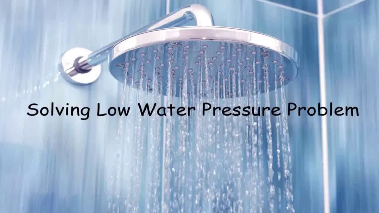 A Simple Cheap Solution To Low Water Pressure At Shower Head In Higher Floor Apartments Youtube