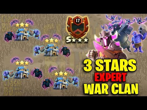 Perfect 3star With Pro Expert War Clan - TH12 vs TH12 PeBoBat Attack - Clash Of Clans