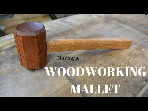 Making a wood working mallet!