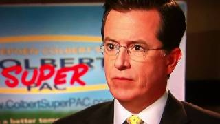 Stephen Colbert assaulted a sea turtle