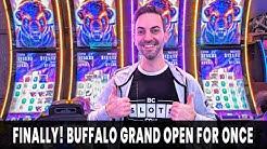 FINALLY! 🐃 Buffalo Grand 🎰 $3 or $3.75 Bet? 💵 Bonus, RETRIGGER, Repeat!