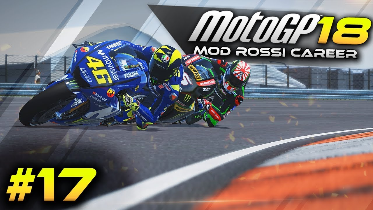 One Race To Go Motogp 2018 Mod Career Mode Gameplay Part 17 Gp