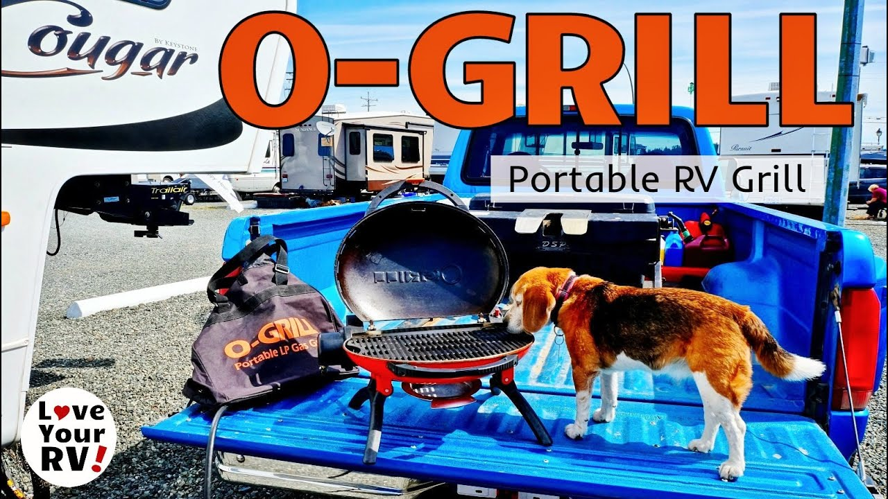 A Look At My Cool Little O-GRILL - YouTube