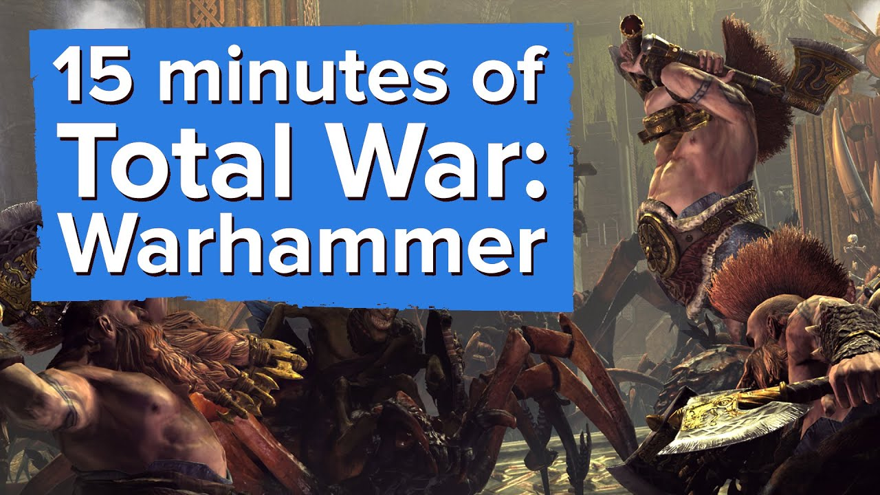 15 minutes of Total War: Warhammer Gameplay (with developer commentary)