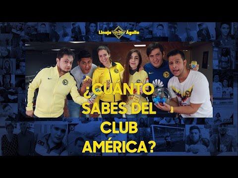 ¿CUÁNTO SABES DEL CLUB AMÉRICA?   #LINAJEAGUILA
