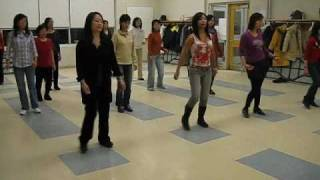 Little Crush line dance (walk through & dance)
