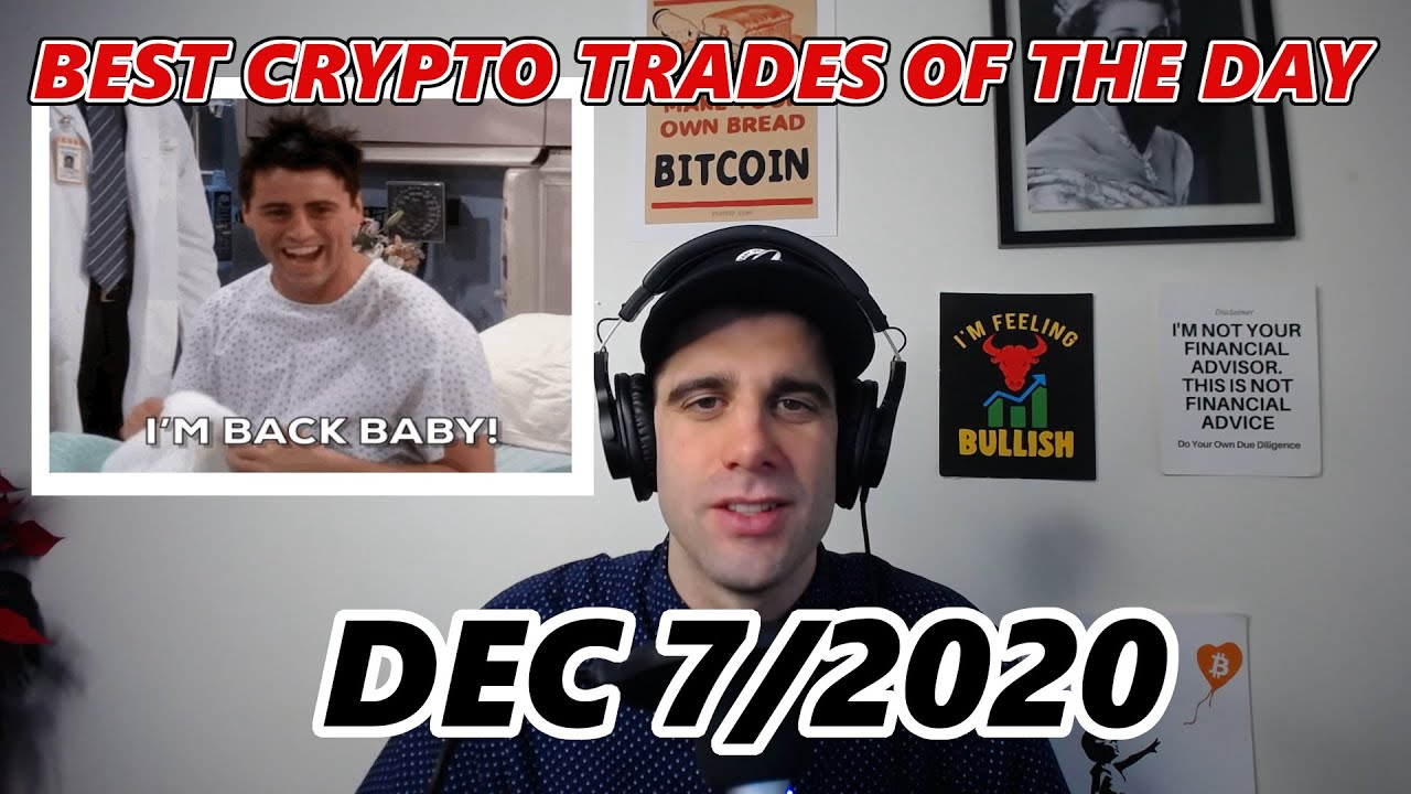 BEST CRYPTO TRADES OF THE DAY!!