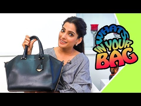 What's In Your Bag With Priya Bapat | Marathi Actress | Gach