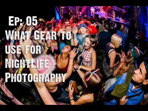 What gear to use for nightclub photography & Canon 7dmkII unboxing