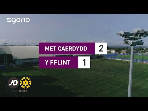 Cardiff Metropolitan Flint Goals And Highlights