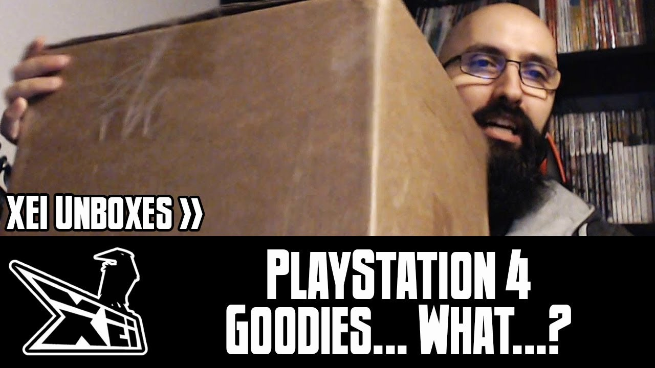 XEI Unboxing: PlayStation 4 Goodies    What? (Fan Mail / Gift)
