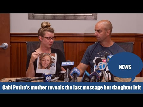 Download Gabby Petito mother believes that her daughter's last text wasn't written by the late vlogger