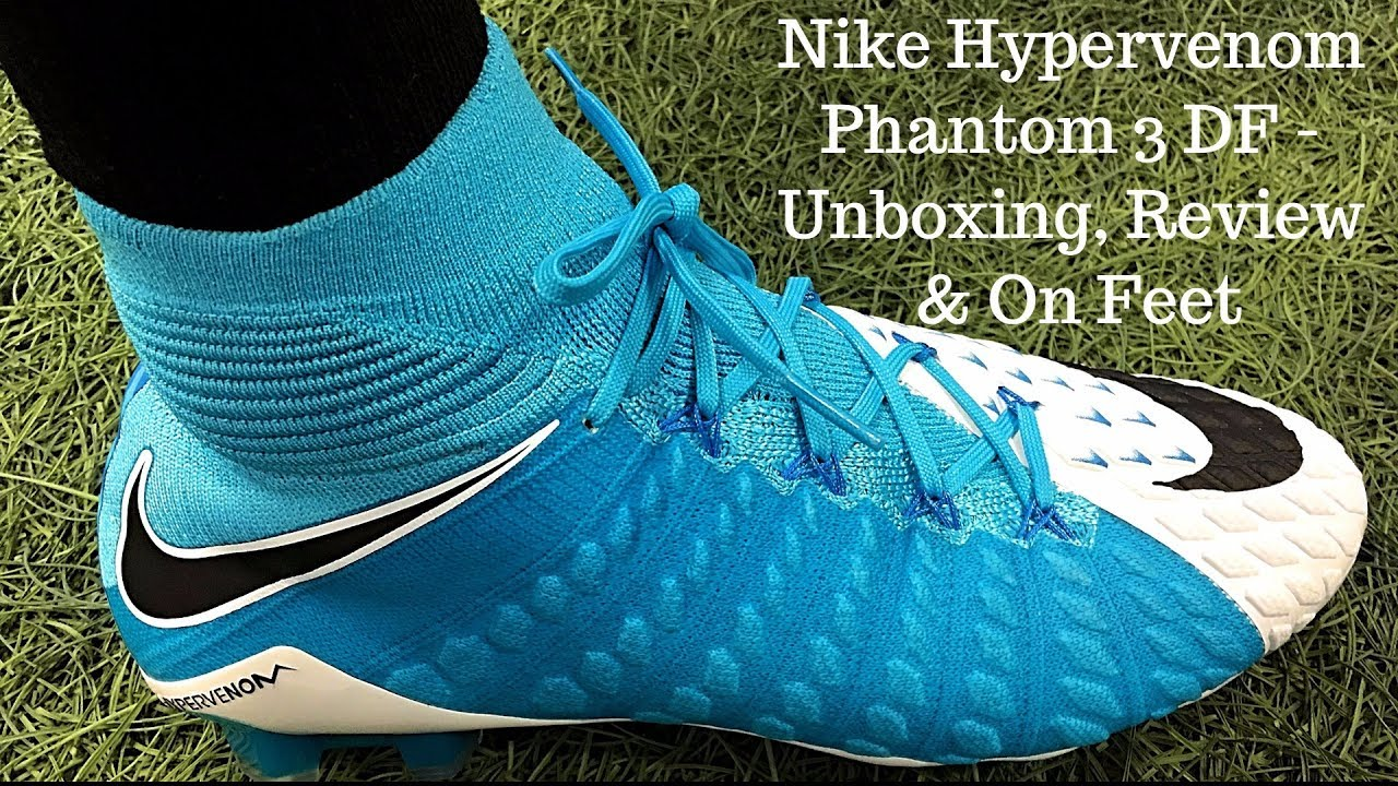 100% authentic 4dec0 fc550 Nike Hypervenom Phantom 3 DF (Motion Blur Pack) - Unboxing, Review & On Feet
