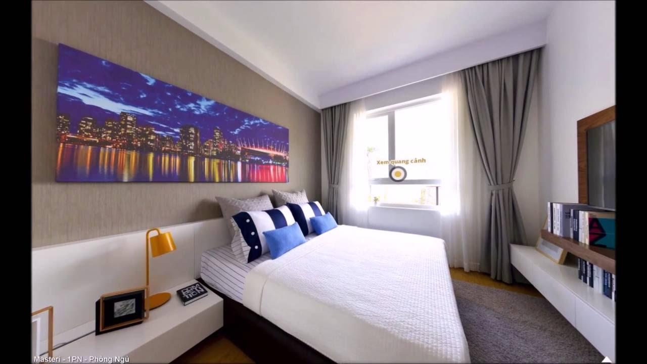 Căn hộ Masteri 1 phòng ngủ, Quận 2, phường Thảo Điền cho thuê