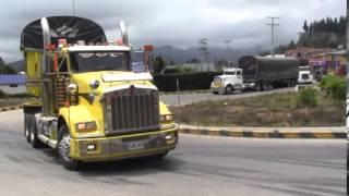 Paro Camionero Ubaté Marzo 9 de 2015