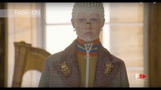 GUCCI CRUISE 2018 Galleria Palatina Florence - Fashion Channel