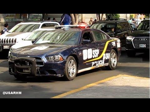 SSP CDMX Dodge Charger Respondiendo / Mexico City Police Dodge Charger  Responding