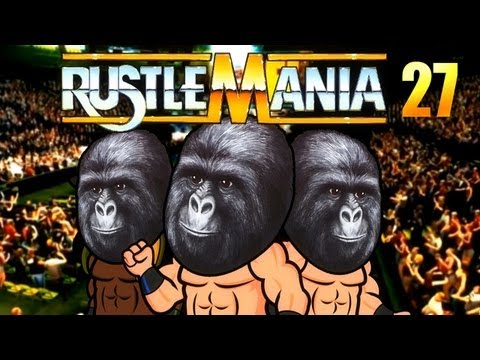 Simpsons Wrestling - Rustlemania 27