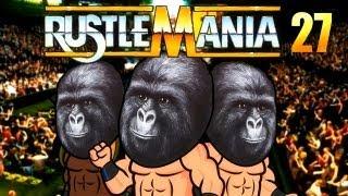 Simpsons Wrestling - Rustlemania 27