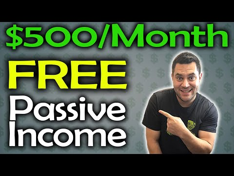 Make $500 Per Month In Passive Income For FREE (Here's How)