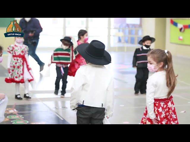 Bailes de Fiestas Patrias Educación Parvularia - Prekínder Colegio Pumahue Chicureo