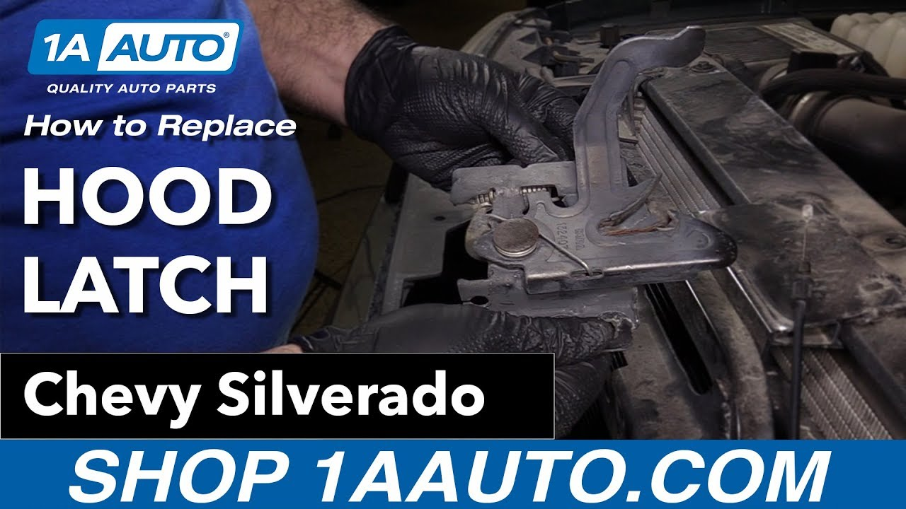 How to Replace Hood Latch 00-06 Chevy Silverado