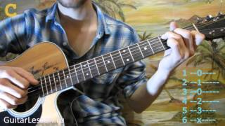 Fleur – Колыбельная для Солнца (Аккорды, урок от Guitarlesson.ru)