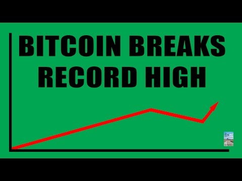 Bitcoin hits record $2000  and rising