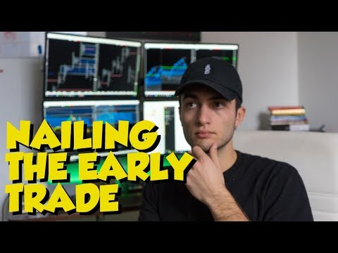 NAILING THE EARLY TRADE CRUDE OIL FUTURES +$200 PROFIT