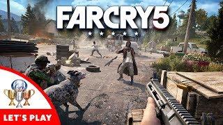 Far Cry 5 Let's Play Live - Walkthrough of Every Region