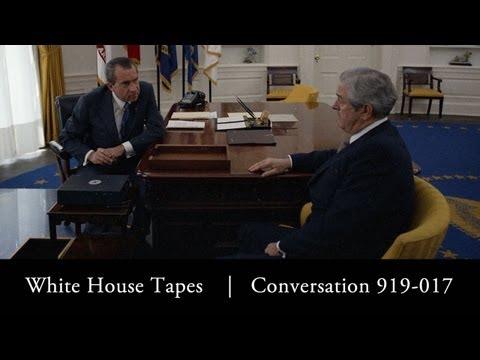 Richard Nixon and John Connally propose a hunting trip for Leonid Brezhnev
