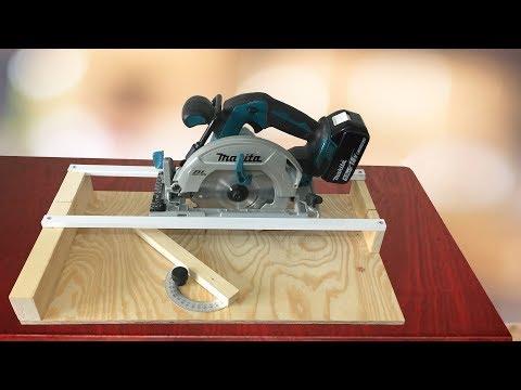 Making a Circular Saw Crosscut Jig - Daire Testere Kesim Kılavuzu