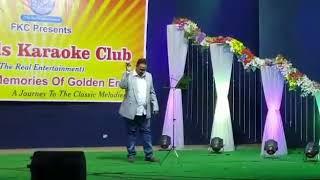 Ishq me hum tumhe kya bataye live on karaoke by..DR.NASER SIDDIQUI