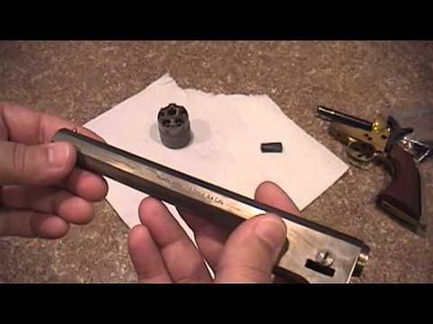 Antiquing a Black Powder Revolver