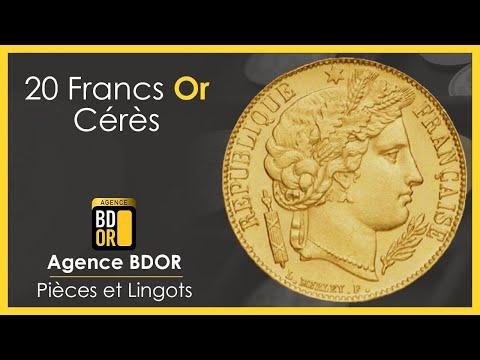 20 Francs Or Cérès - Pièce de Monnaie Or de 1849, 1850 & 1851 - BDOR