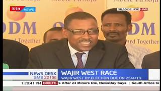 Wajir West Race: ODM Party to issue ticket to Prof. Yusuf Elmi in upcoming election