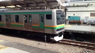 池袋駅出発の湘南新宿ラインE231系(動画シリーズ) thumbnail