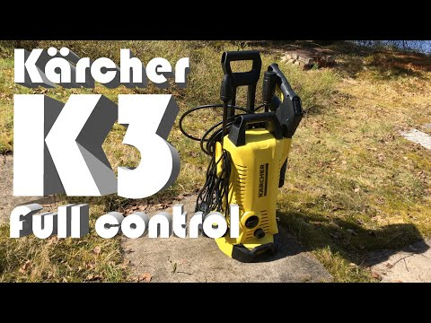 Kärcher K3 Full Control Pressure Washer (Unboxing, set up, quick test)